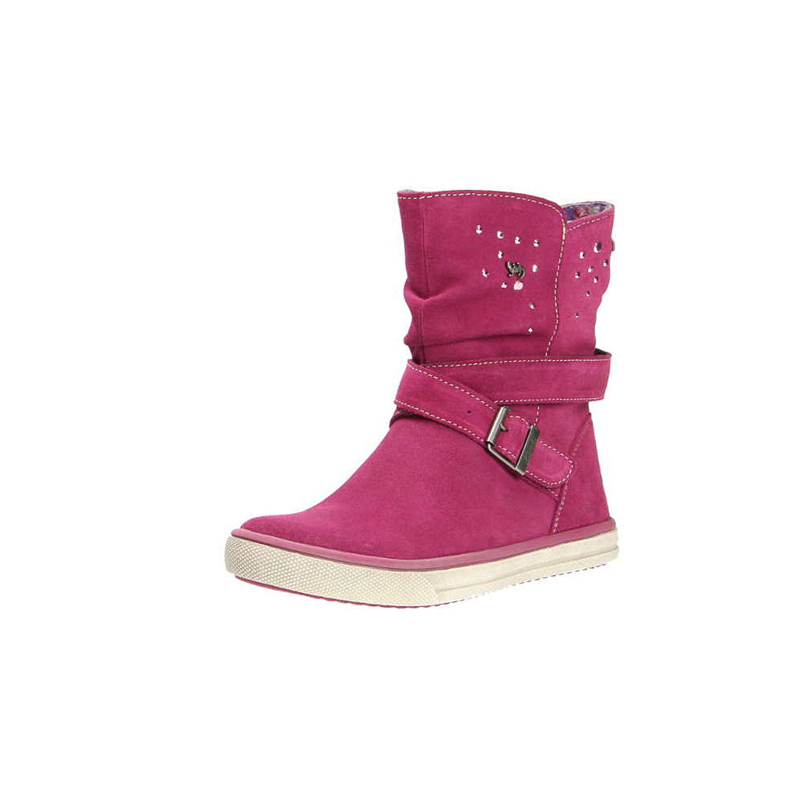 Lurchi Stiefel für Mädchen rot Mädchen Gr. 28