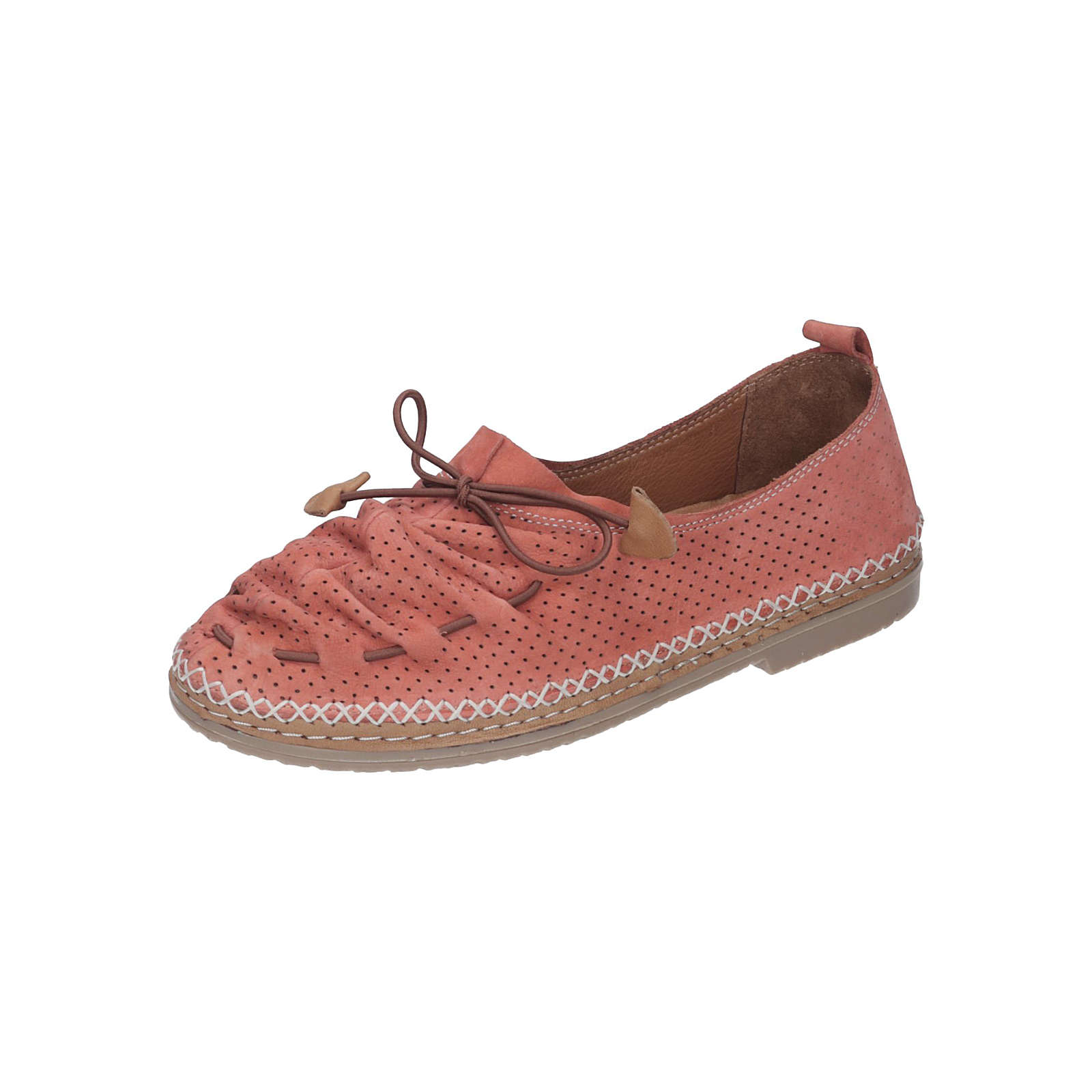 Manitu Damen Slipper orange Damen Gr. 36