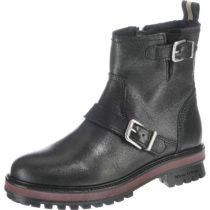 MARC O´POLO Biker Boots schwarz Damen Gr. 40
