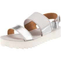 MARC O´POLO Komfort-Sandalen silber Damen Gr. 37
