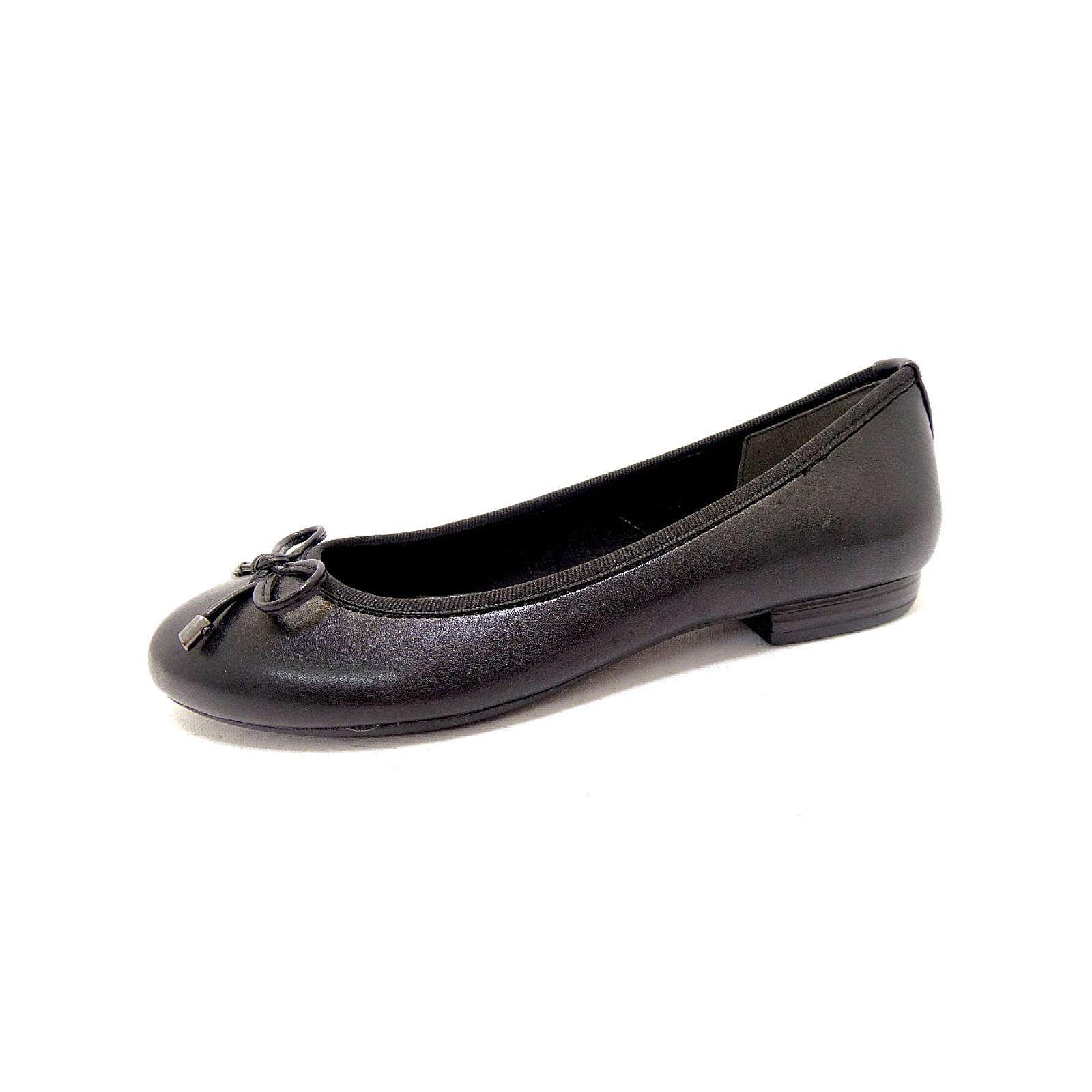 MARCO TOZZI Ballerinas schwarz schwarz Damen Gr. 39