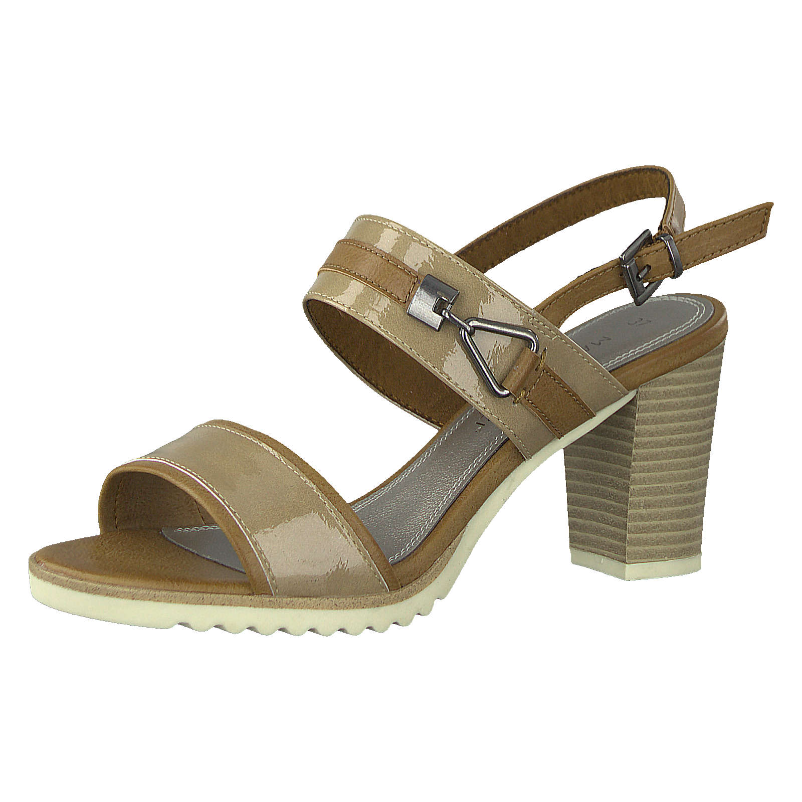 MARCO TOZZI Klassische Sandaletten gold Damen Gr. 41