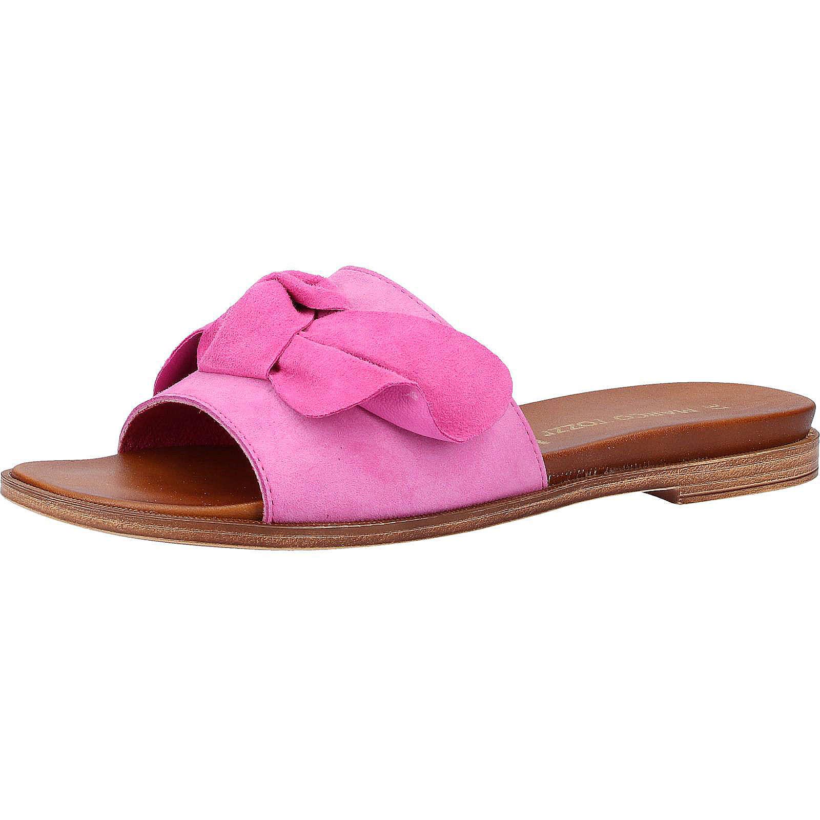 MARCO TOZZI Pantoletten Pantoletten pink Damen Gr. 41