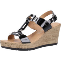 MARCO TOZZI Sandalen Klassische Sandaletten schwarz Damen Gr. 36