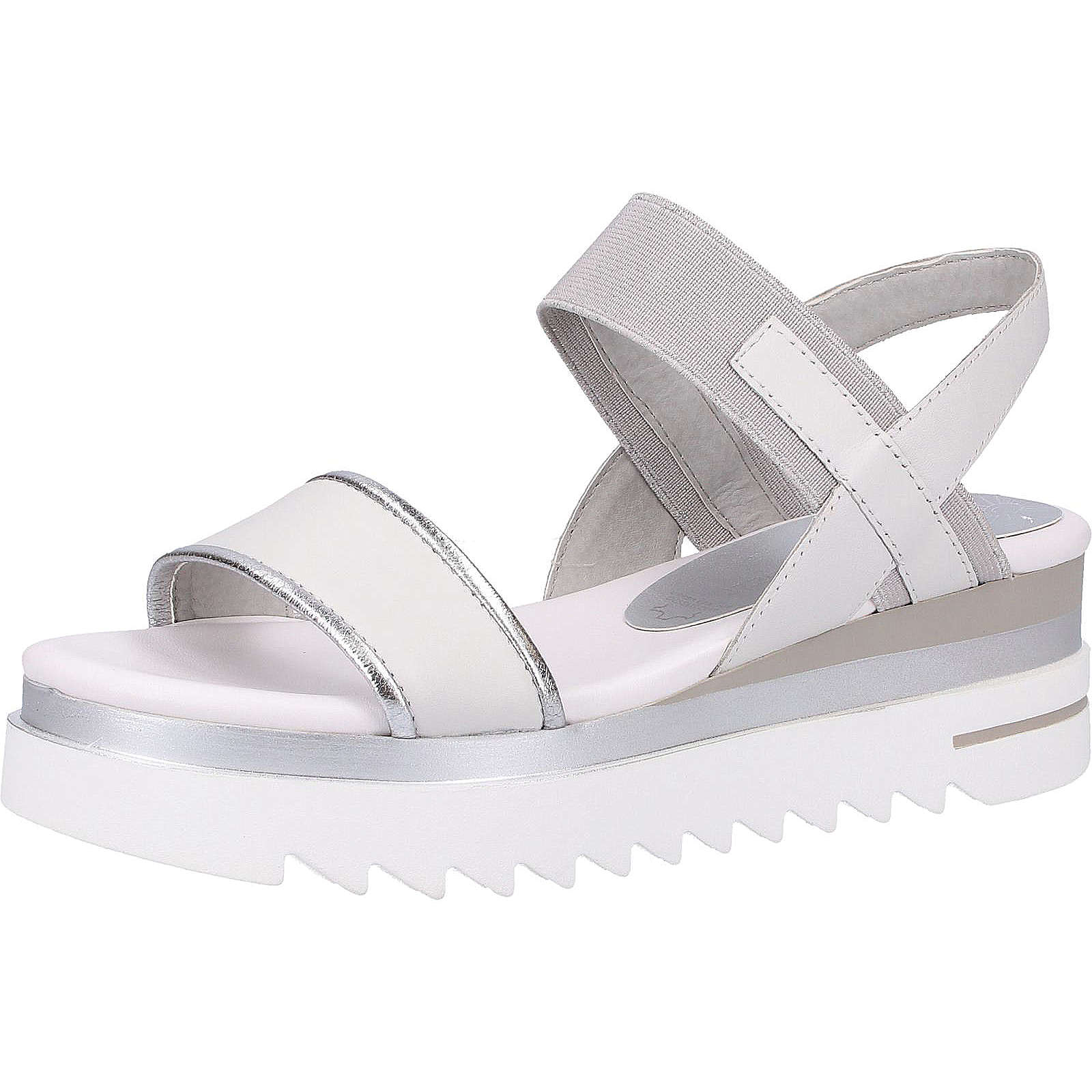 MARCO TOZZI Sandalen Klassische Sandaletten weiß Damen Gr. 40
