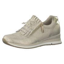 MARCO TOZZI Sneakers Low grau/braun Damen Gr. 38