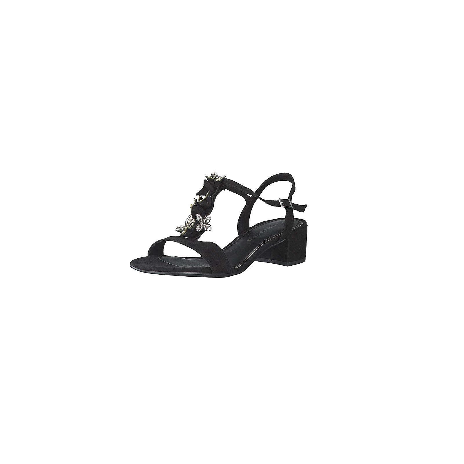 MARCO TOZZI T-Steg-Sandaletten schwarz Damen Gr. 36