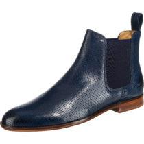 MELVIN & HAMILTON Chelsea Boots blau Damen Gr. 37