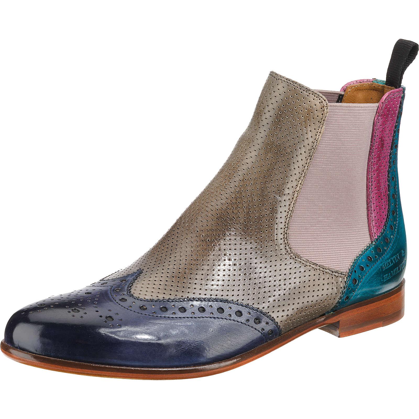 MELVIN & HAMILTON Chelsea Boots mehrfarbig Damen Gr. 42