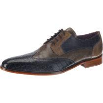 MELVIN & HAMILTON Lance 9 Business-Schnürschuhe grau Herren Gr. 44