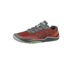 MERRELL Trail Glove 5 J50265 Herren Burnt Henna Rot Trail Running Barefoot Run Trailrunningschuhe rot Herren Gr. 42