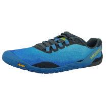MERRELL Vapor Glove 4 J50393 Herren Mediterranian Blue Blau Trail Running Barefoot Run Trailrunningschuhe blau Herren Gr. 45