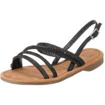 MUSTANG Klassische Sandalen schwarz Damen Gr. 38
