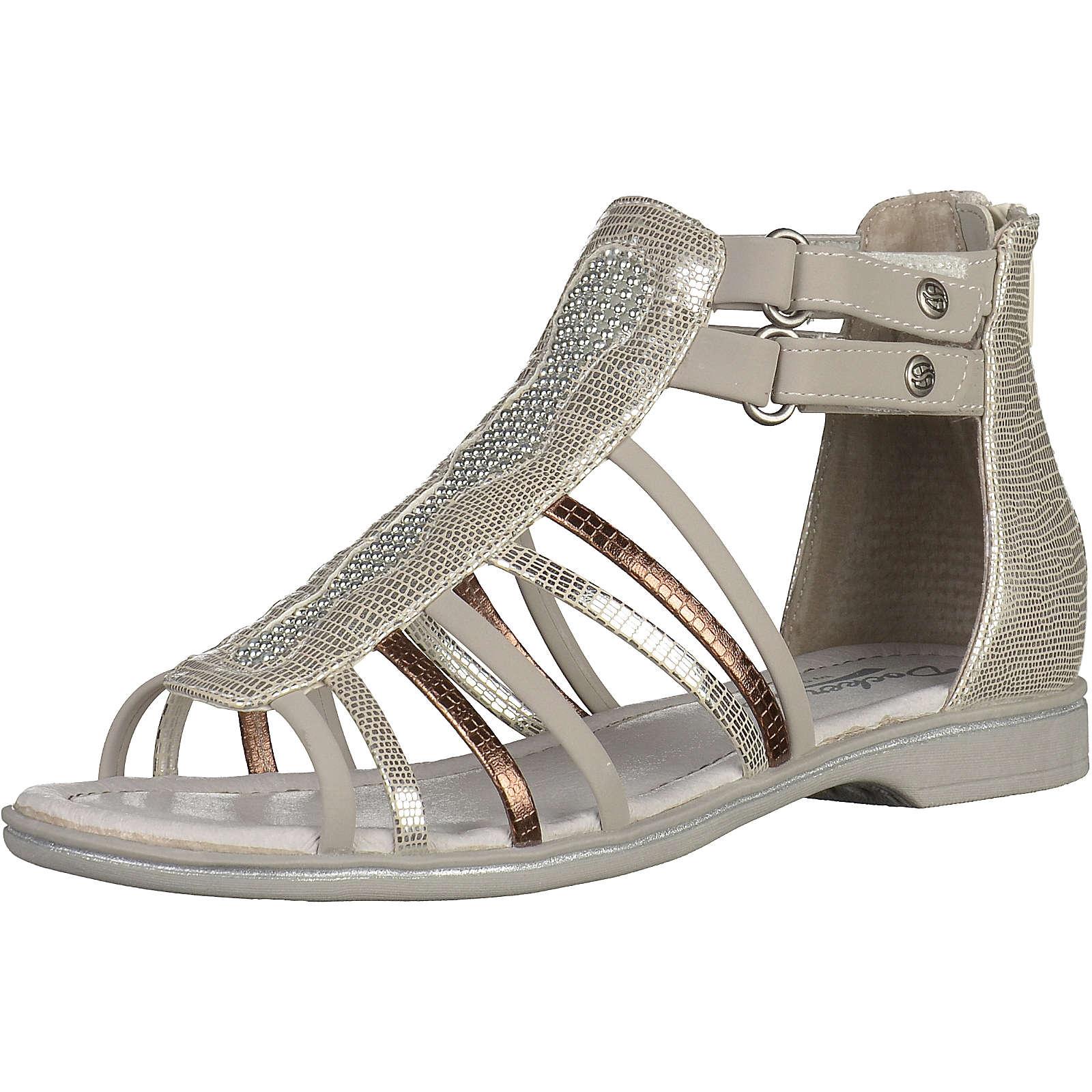 MUSTANG Sandalen für Mädchen silber Mädchen Gr. 40