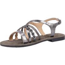 MUSTANG Sandalen Klassische Sandaletten dunkelgrau Damen Gr. 36