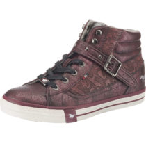 MUSTANG Sneakers High bordeaux Damen Gr. 37