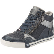 MUSTANG Sneakers High dunkelblau Damen Gr. 37