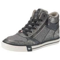 MUSTANG Sneakers High dunkelgrau Damen Gr. 39