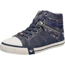 MUSTANG Sneakers High für Mädchen blau Mädchen Gr. 31