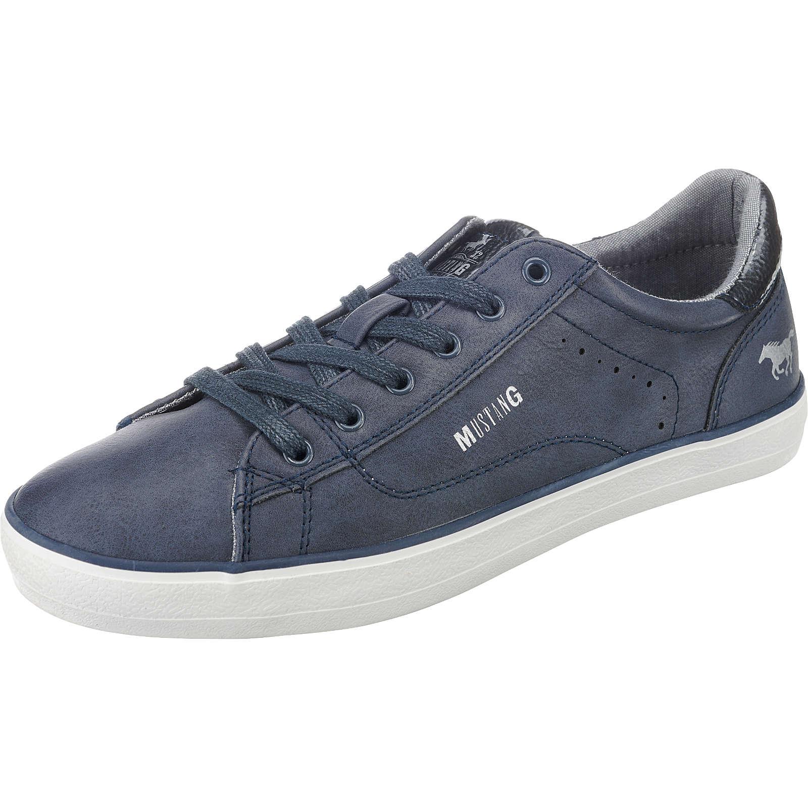 MUSTANG Sneakers Low blau Damen Gr. 39