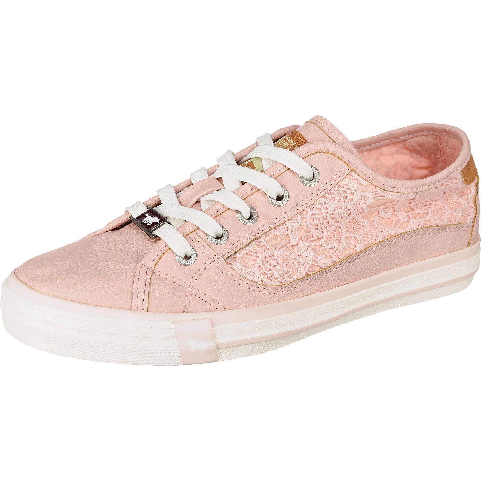 MUSTANG Sneakers Low rosa Damen Gr. 40