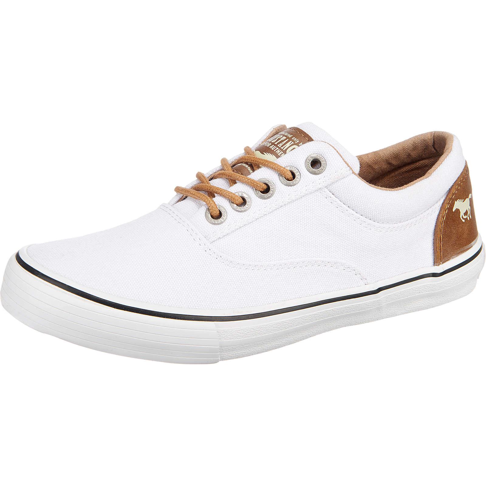 MUSTANG Sneakers Low weiß Damen Gr. 37