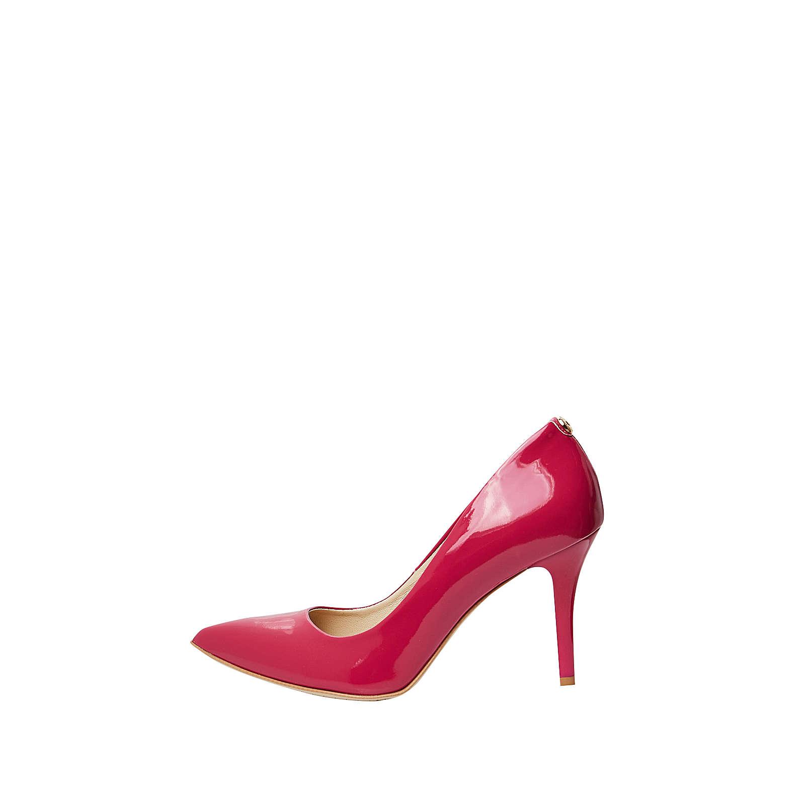 myMo Feminine Lackleder Pumps pink Damen Gr. 39