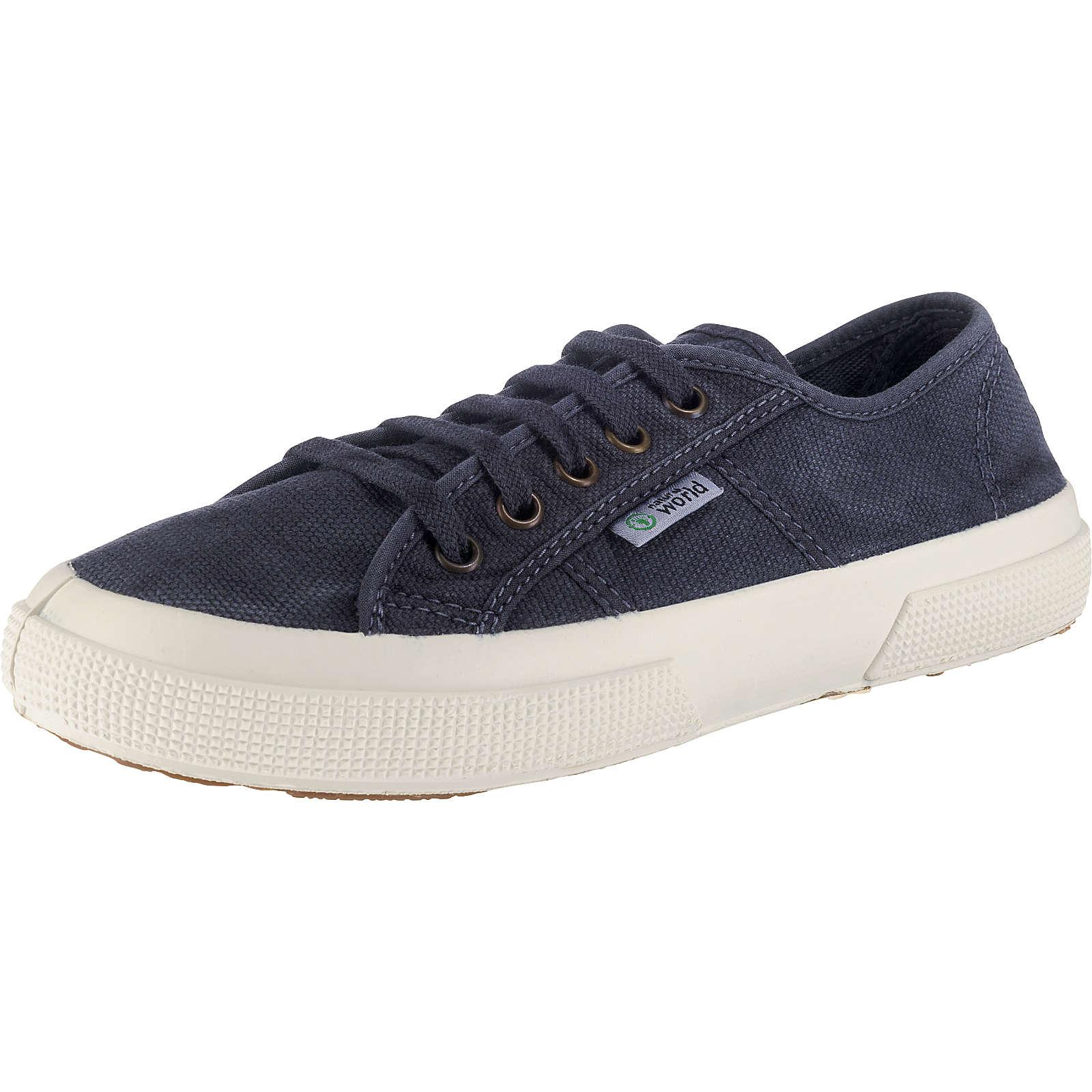 natural world BASQUET ENZIMATICO Sneakers Low blau Damen Gr. 37
