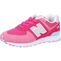 new balance Kinder Sneakers Low rosa Gr. 34,5