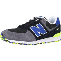 new balance Kinder Sneakers Low schwarz/grau Gr. 33