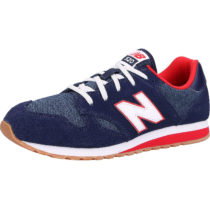 new balance Kinder Sneakers low schwarz/rot Gr. 34,5