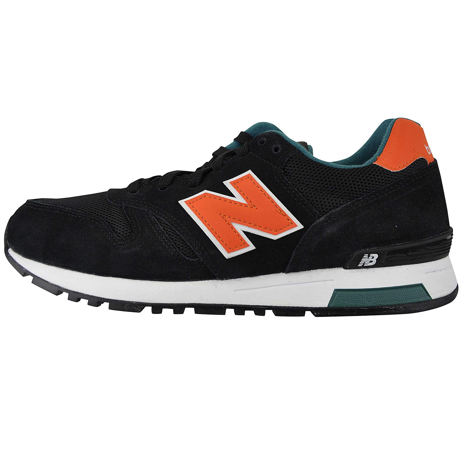New Balance ML565SBO Sneakers Low orange/schwarz Herren Gr. 40