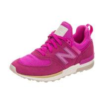 new balance Sneakers Low für Mädchen rosa/weiß Mädchen Gr. 37