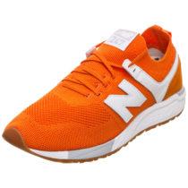 new balance Sneakers Low orange/weiß Gr. 42