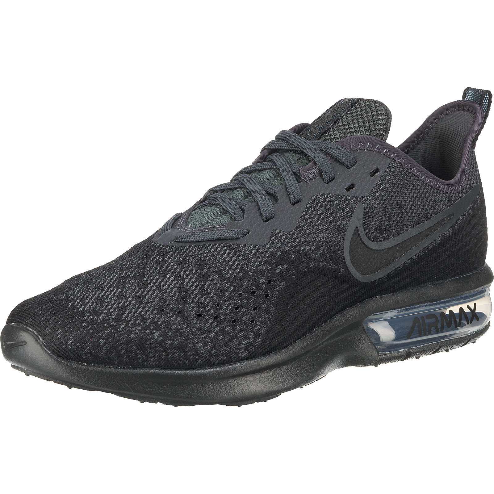 Nike Performance Air Max Sequent 4 Laufschuhe schwarz Herren Gr. 44