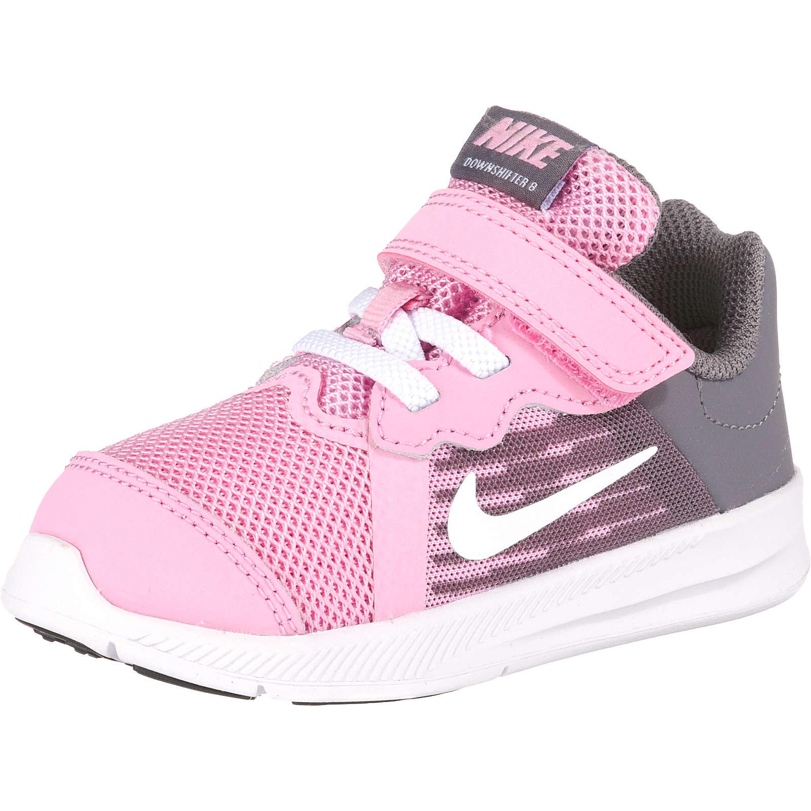 Nike Performance Baby Sportschuhe DOWNSHIFTER 8 (TDV) für Mädchen rosa Mädchen Gr. 21