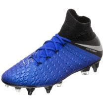 Nike Performance Hypervenom Phantom III Elite DF SG-Pro AC Fußballschuh Herren blau/silber Herren Gr. 47,5