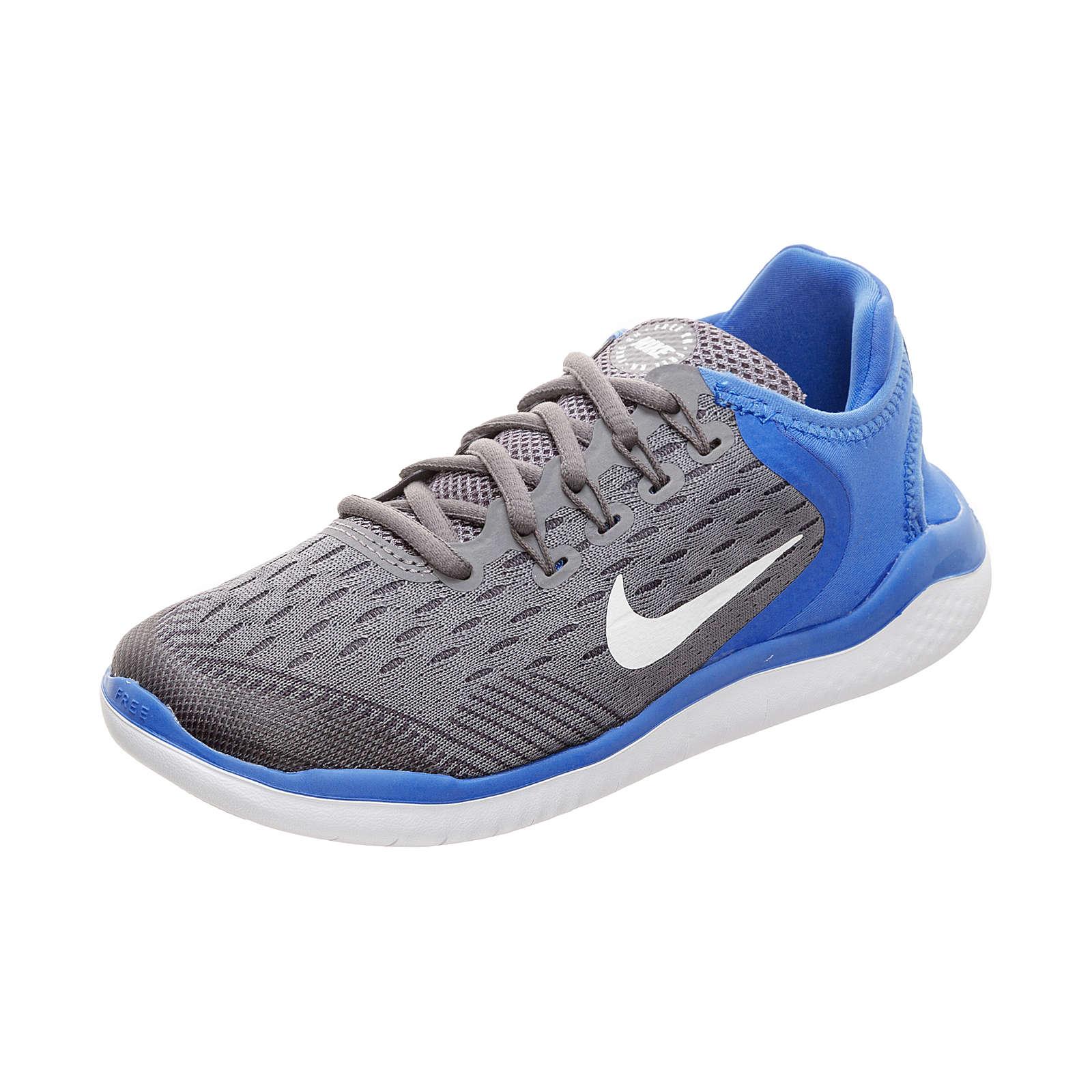 Nike Performance Kinder Sportschuhe Free RN 2018 grau Gr. 36,5