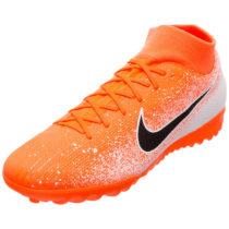 Nike Performance Mercurial SuperflyX VI Academy TF Fußballschuh Herren orange/schwarz Herren Gr. 44
