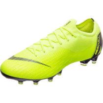 Nike Performance Mercurial Vapor XII Elite AG-Pro Fußballschuh Herren gelb Herren Gr. 44,5