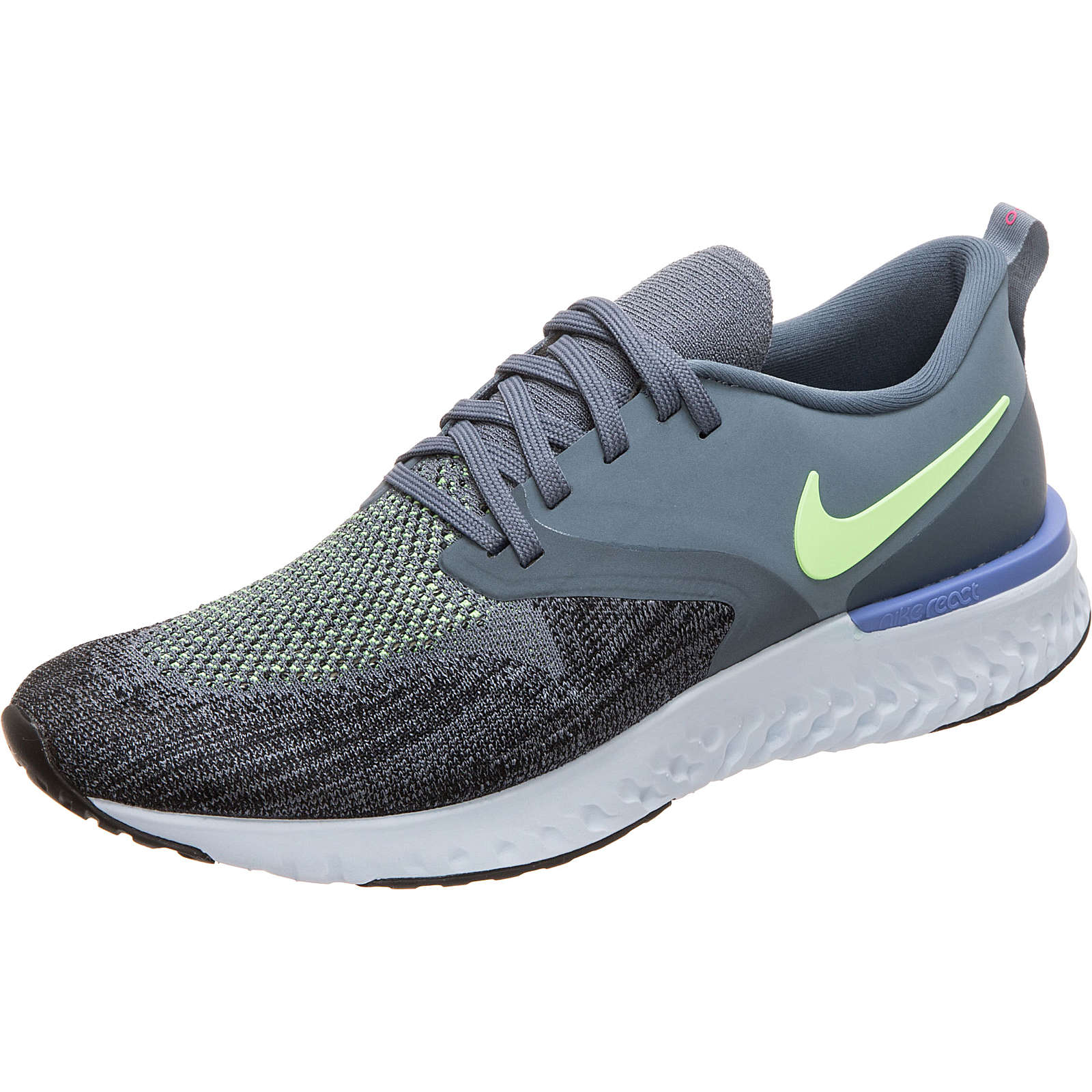 Nike Performance Odyssey React 2 Laufschuh Damen blau/grau Damen Gr. 42