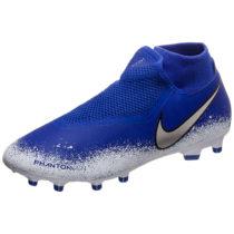 Nike Performance Phantom Vision Academy DF MG Fußballschuh Herren blau/weiß Herren Gr. 44