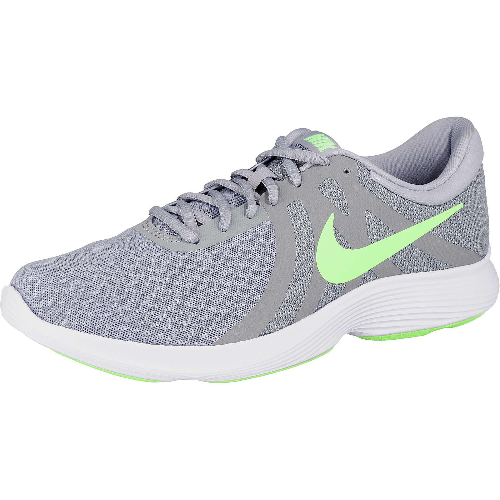 Nike Performance Revolution 4 Laufschuhe grau-kombi Herren Gr. 41
