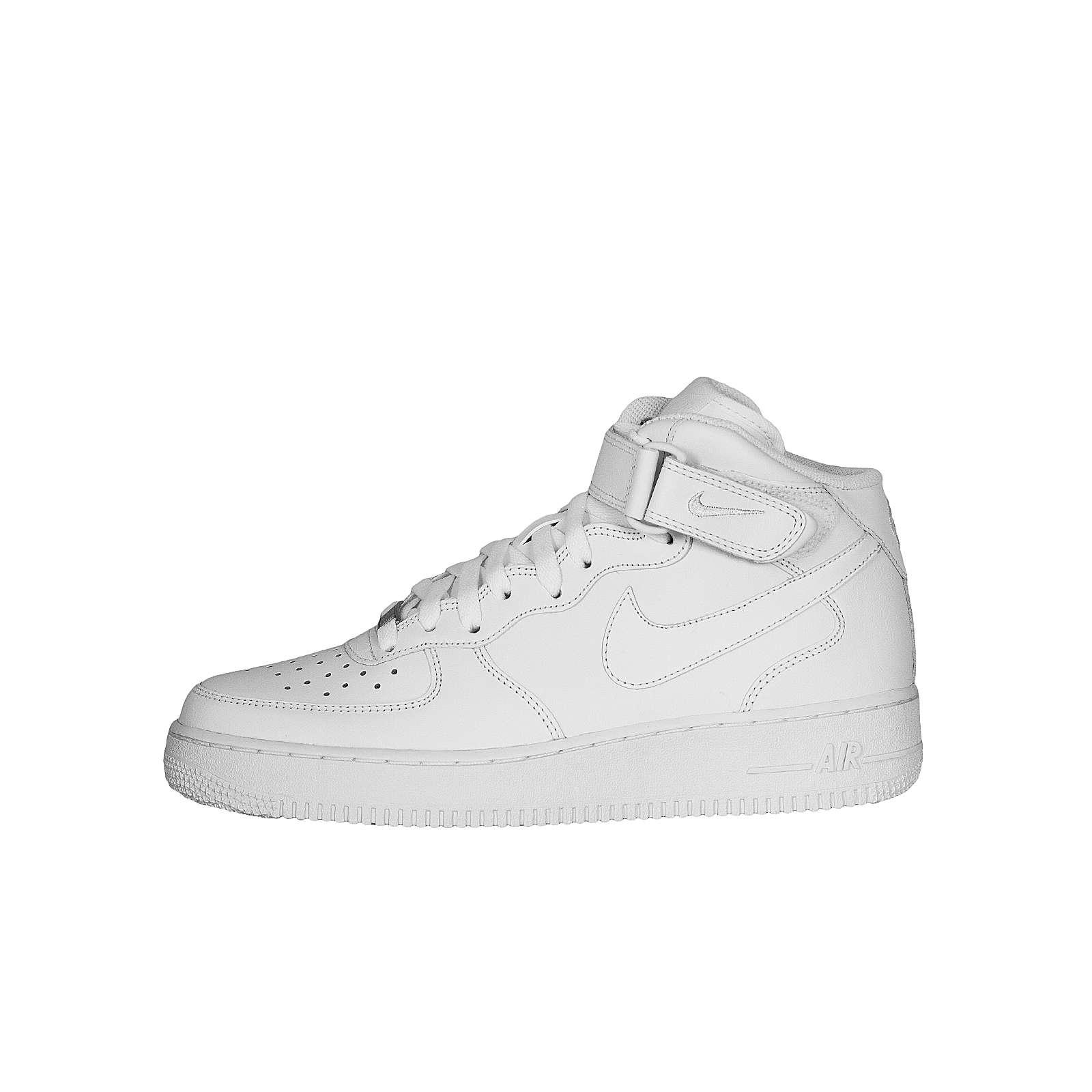 Nike Sportswear Sneakers High Air Force 1 MID ´07 weiß Herren Gr. 44,5