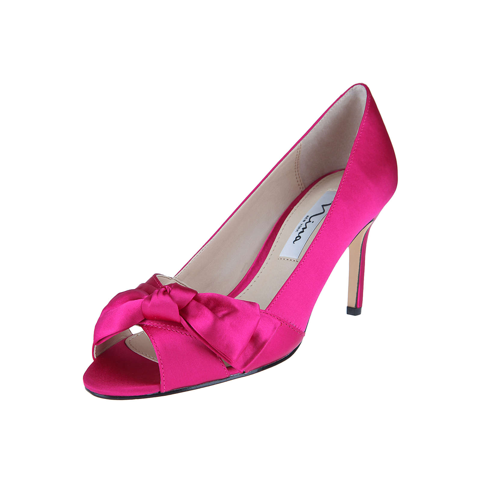 Nina Shoes Peeptoe-Pumps FORBET Peeptoe-Pumps pink Damen Gr. 40