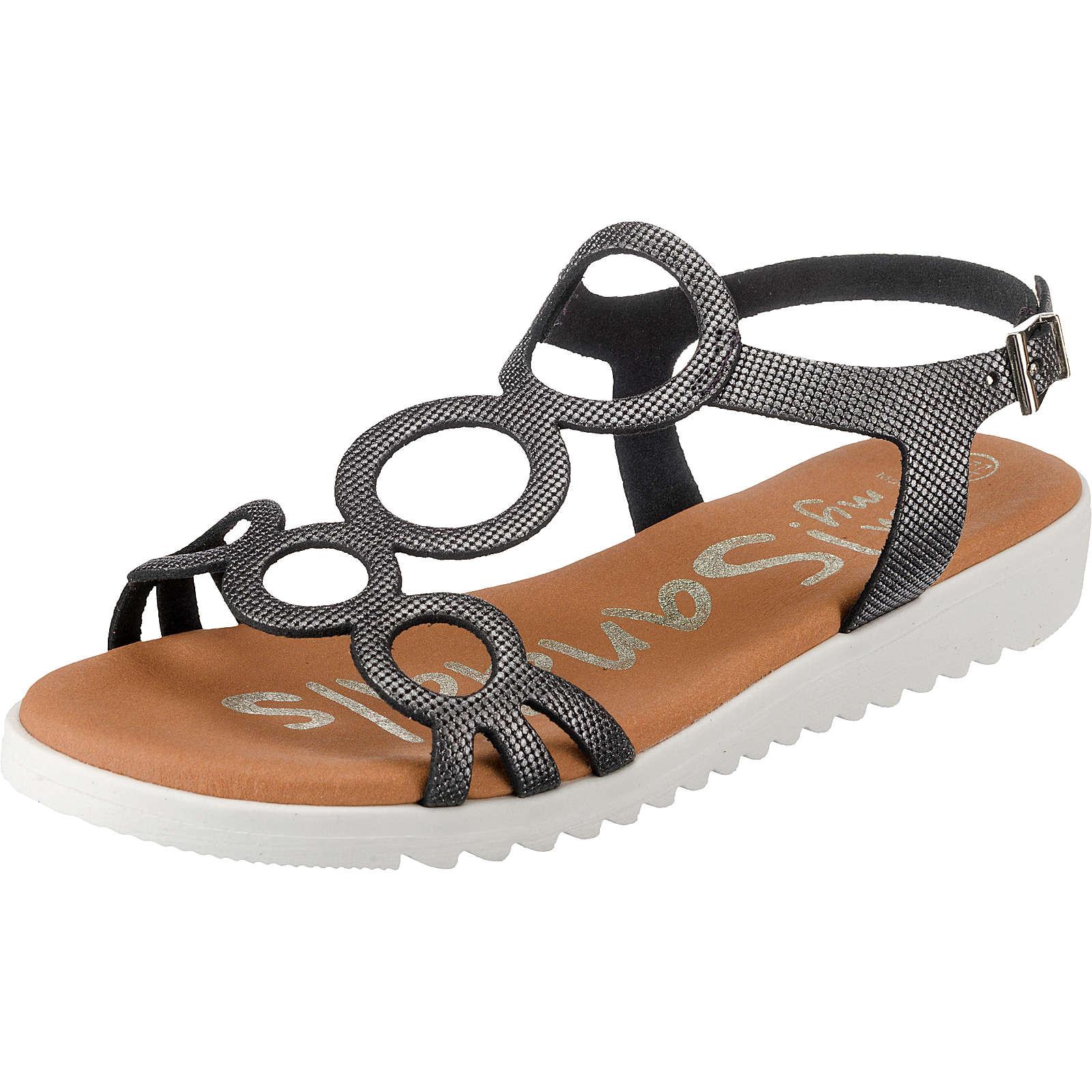 Oh! my Sandals Riemchensandalen gold Damen Gr. 37