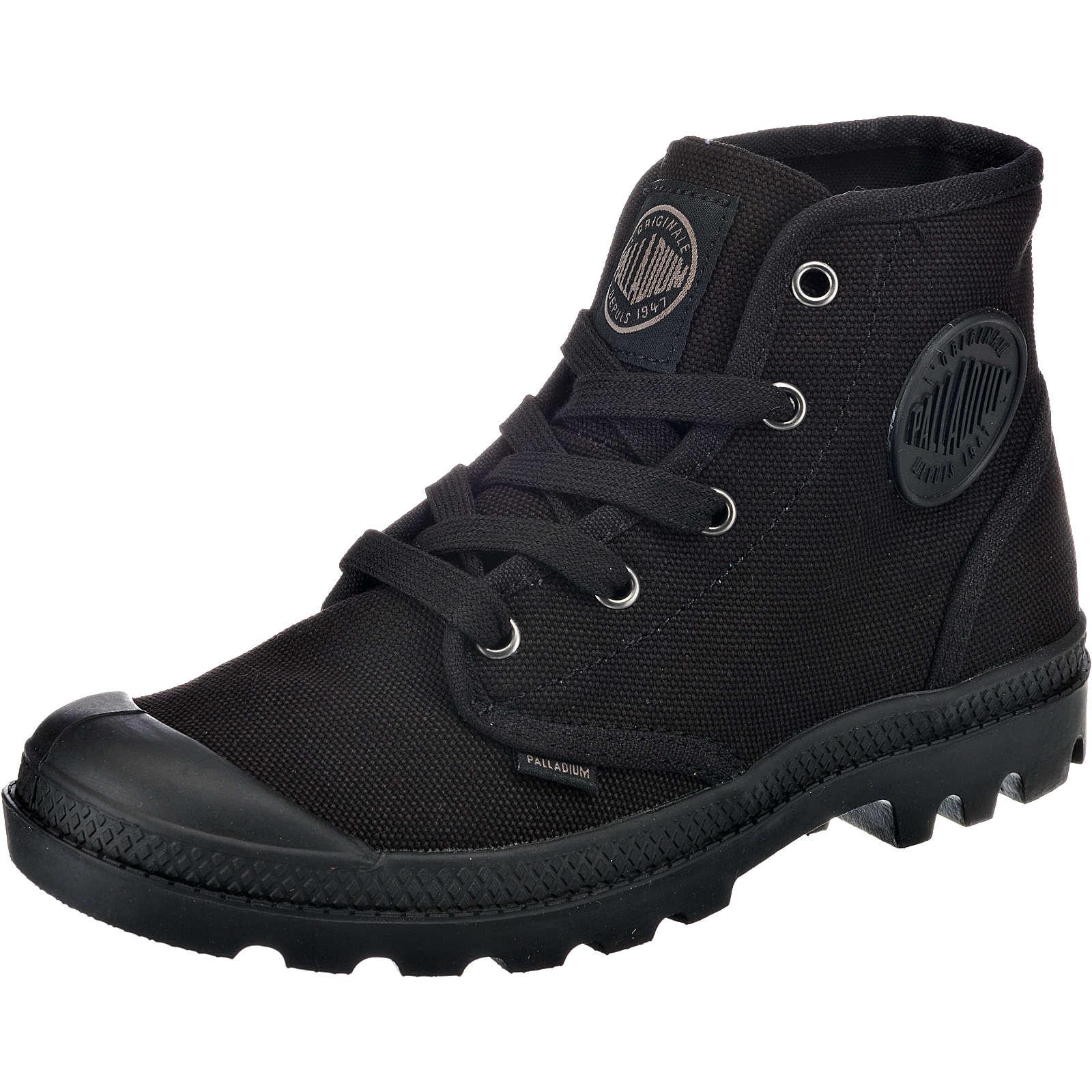 Palladium Pampa Hi Sneakers schwarz Damen Gr. 37