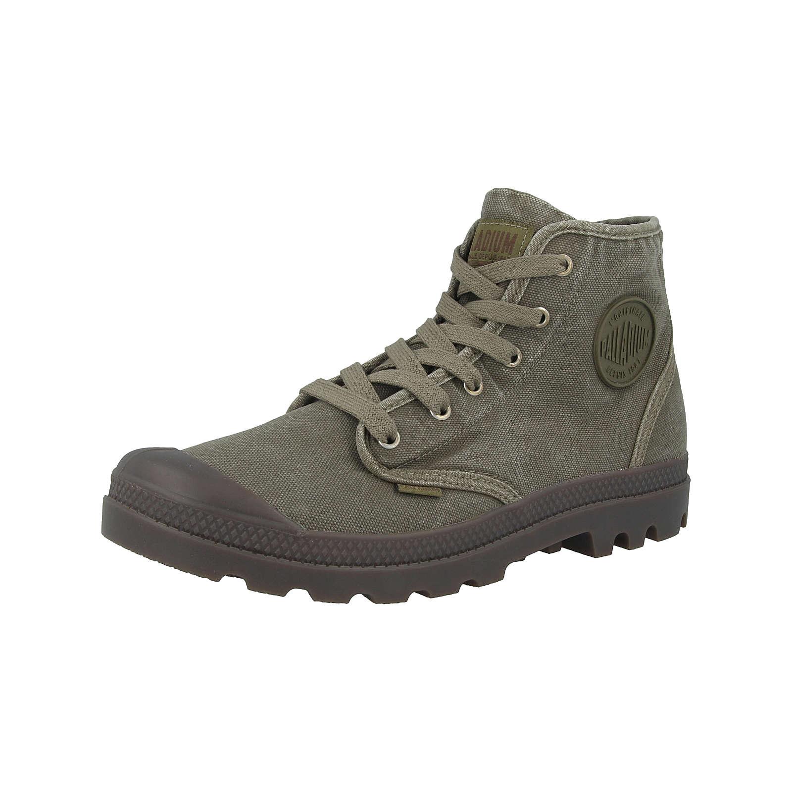 Palladium Schuhe Pampa Hi Schnürstiefel grün Herren Gr. 44
