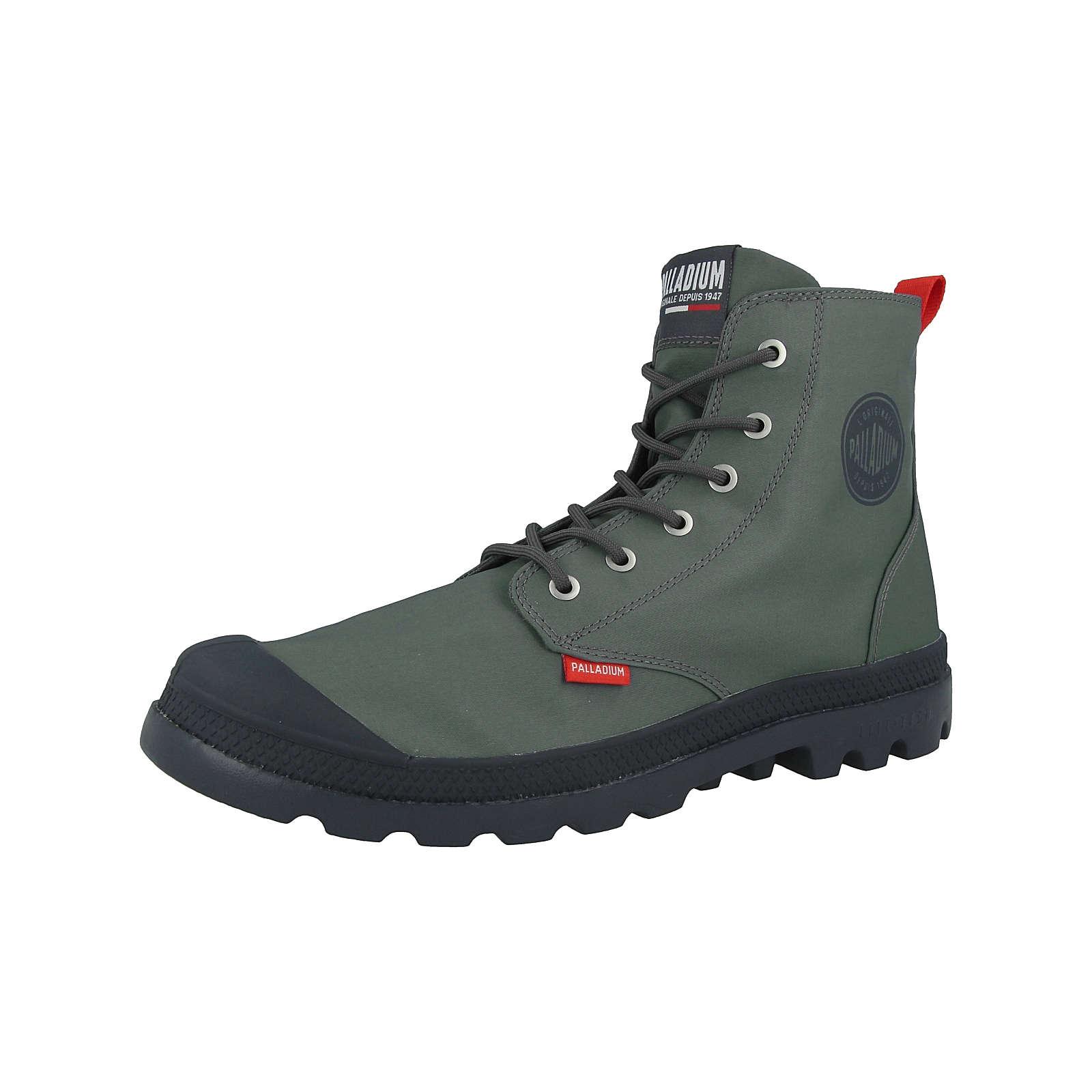 Palladium Schuhe Pampa Lite Ultra TX Schnürstiefel grün Gr. 46