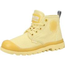 Palladium Stiefel für Jungen gelb Junge Gr. 28